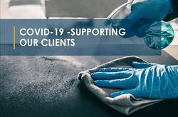 COVID-19 Supporting Our Clients